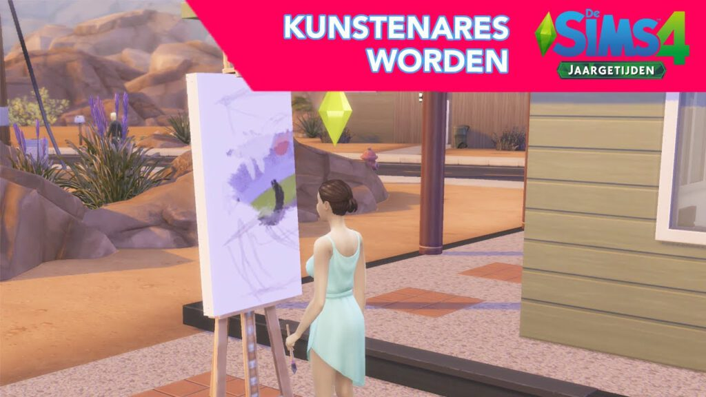 Kunstenares worden!